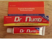 Анестезия  для татуажа Dr. Numb