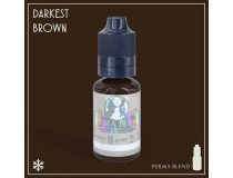 Пигмент Darkest Brown для татуажа, , 546.25грн., PB-DBR, США, Пигменты Perma Blend (World Famous Tatoo Ink, USA)