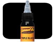 Пигмент Triple Black 1/2 для тату, , 183.94грн., Et-E02 1/2, , Пигменты Eternal (Eternal Ink, USA)