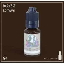 Пигмент Darkest Brown для татуажа