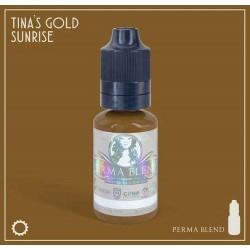 Пигмент Tinas Gold Sunrise для татуажа