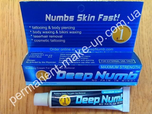 Анестезия Deep Numb для татуажа