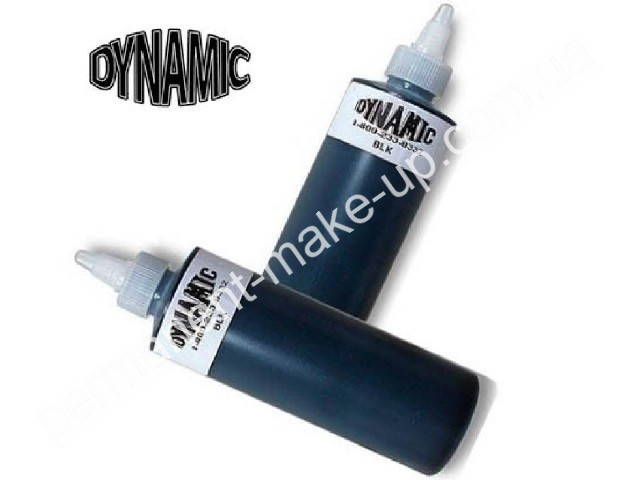 Пигмент Dynamic Black для тату 15 ml