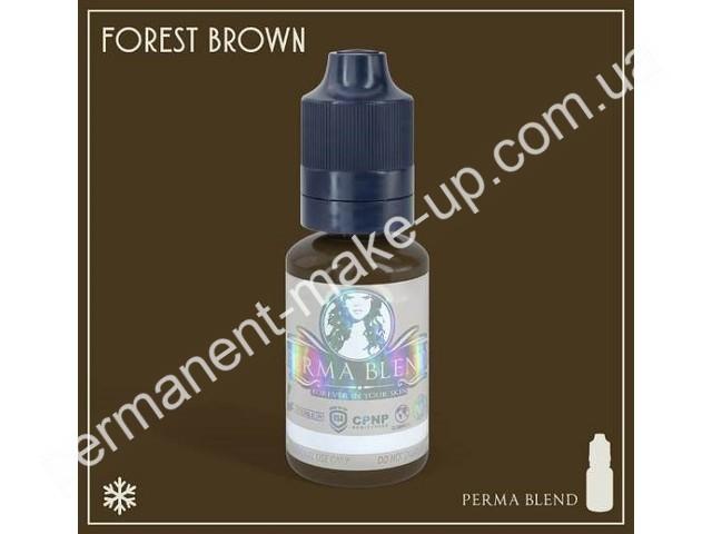 Пигмент Permabland Forest Brown для татуажа