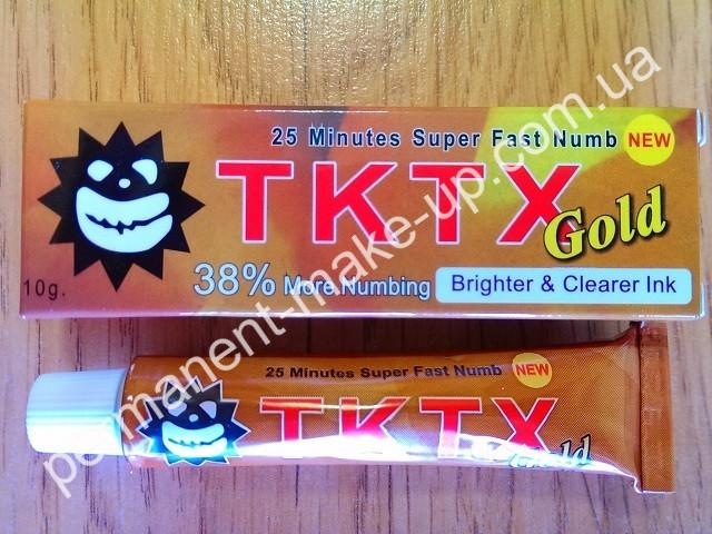 Анестезия для татуажа TKTX Gold