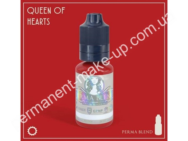 Пигмент Permabland Queen of Hearts для татуажа