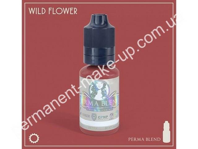 Пигмент Permabland Wild Flower для татуажа